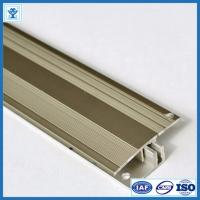 Buy Gold and Champage Anodized Color Aluminum Extrusion Profiles for Flooring Thicknesses 7-17,5 mm at wholesale prices