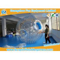 Quality Transparent Inflatable Human Hamster Ball Body Zorb Ball For Adult / Small Kids for sale