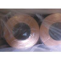 Buy Durable Flat Bare Copper Wire , Carton Special Copper Electrical Wire Mini 1 Roll at wholesale prices