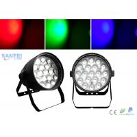 Quality High Power 19pcs * 15W RGBW LED Par Stage Lights with Beam Effect for sale