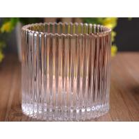 Quality 530Ml Personalized Glass Candle Holders For Table , Eco Friendly for sale