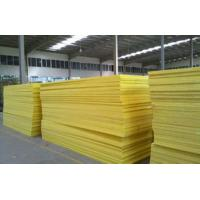China 50mm Flame Resistant Glass Wool Pipe Insulation For External Walls on sale