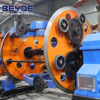 CLY-1000 Vertical Cable Laying Equipment For Insulated Wire Customized Color