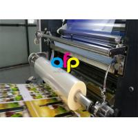 China Water Based Laminate Cold Laminating Film , Multiple Extrusion BOPP Plastic Film on sale