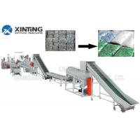 Quality Waste PET Bottle Recycling Machine Bottle Flakes Cleaning Line Automotive for sale