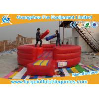 Quality Customized Size Inflatable Battle Arena Fighting Playground CE SGS EN14960 ROSH for sale