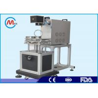 Quality Air Cooling Small CO2 Laser Marking Machine For Marking Metals 220V 50Hz for sale