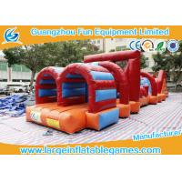 Quality Great Commercial Inflatable Obstacle Course Bounce House 15*3.2*2.4m for sale