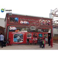 Quality 5D Cinema 5D Movie Theater Including The Outside Cabin Electronic Dynamic System for sale