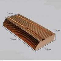 Buy cheap Skive OEM Brass Heatsink, Skiving Fin Heat Sink Manufacturer, Skived Cu1100 from wholesalers