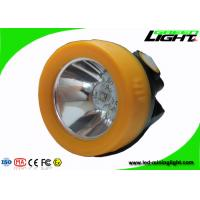 China Magnetic Charging Led Miners Cap Lamp 10000lux All In One Structure Msha Approved on sale