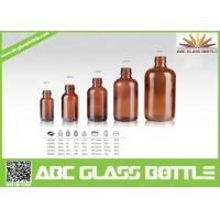 Quality Trustworthy China Supplier Amber Glass Bottle For Amber for sale