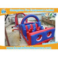 Quality Separating Climbing Inflatable Bouncer Jumper With Slide , CE Blower for sale