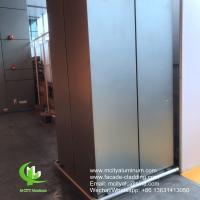 Quality Outdoor Curtain Wall Aluminum Column Covers Solid Aluminum Porch Post Wraps for sale
