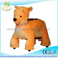 Quality Hansel coin operated walking animal electric animal battery toy motorized animals for sale