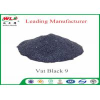 Quality RB C I Vat Black 9 Vat Direct Black Fabric Dye For Cotton Heat Resistant for sale