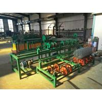 Buy cheap 3 Width singel wire feeding Full Automatic PLC Chain Link Fence Machine from wholesalers