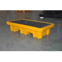 Quality Chemical Drum Spill Containment , 2 Drum Spill Pallet For Storing Oil / Solvents for sale