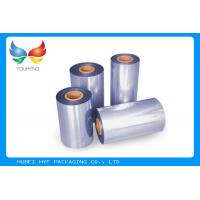 Quality Printable Waterproof PVC Heat Shrink Film 45-50% Shrinkage For Cap Sealing for sale