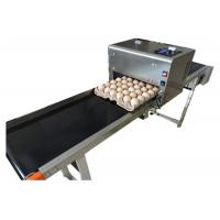 Quality High tech carton coding machine eggs number inkjet printer with solvent For Egg Supplier for sale