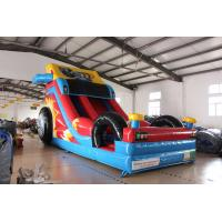Quality Inflatable Crazy Racing car slide for sale