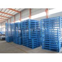 Quality Environment Lightweight Strong Rackable Steel Pallets For Warehouse Storage for sale