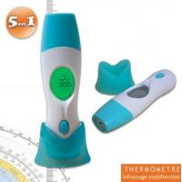 Baby Infrared Thermometer Thermomètre médical infrarouge 5 en 1 empérature auriculaire, frontale, d'un objet ou ambiant for sale