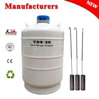 China Cryogenic Dewar Semen Tank 30 L Ln2 Container Manufacturer for sale
