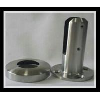 Quality Stainless steel 316/316L round base plate glass spigot with polished or satin finish for glass pool for sale
