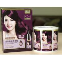 Quality Packaging Adhesive Metallic Product Labels For Shampoo Bottle Label Printing for sale