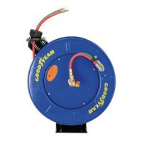 Quality Goodyear Safety Series Dual Hose Spring Rewind Hose Reel for Oxy-Acetylene for sale