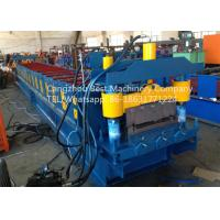 Quality Strength And Durability Roofing Sheet Roll Forming Machine Hydraulic Cutting Type for sale