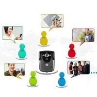 Quality Black White HD WIFI Video Doorbell Camera Motion Detection With Tamper Alarm for sale