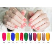Quality Professional Fashion New Design Transparent Color Smooth Nature Varnish Glaze Gel Nail Polish for sale