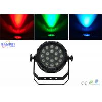 Quality IP65 2000lux 18pcs 10watt LED Par Stage Lights with LCD screen for sale
