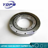 China VU140179  turntable bearing 124.5x234x35mm Slewing Ring Bearing Four point contact ball bearing Internal gear teeth on sale