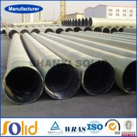 Quality Large diameter hydraulic transmission GRP/FRP pipes for sale