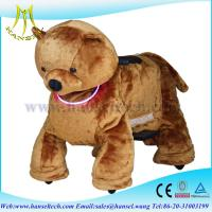 Quality Hansel plush animais motorizado animal electronic rides for sale