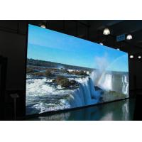 China SMD Black P6 Indoor Full Color LED Display 900 - 1500 Nits Whiteness Brightness on sale