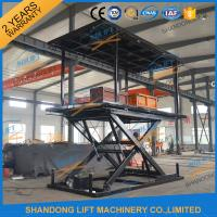 Quality 6T 3M Hydraulic Portable Car Lift Double Deck Car Parking System With CE for sale