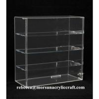 Quality Transparent 4 Tier Acrylic Display Box Made In China for sale