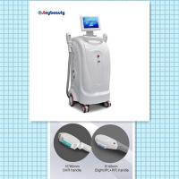 Quality model number SH-1 vertical model two handles super hair removal machine ipl+rf laser machine for sale