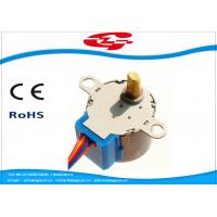 Quality Permanent Magnet High Torque Stepper Motor With Gearbox , 5 Lead Wires for sale