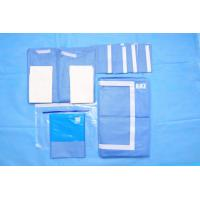 Quality OEM Blue Non Woven Surgical Cystoscopy Drape SMS Absorbent Material for sale