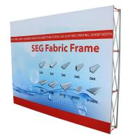 Quality 10'Wx8'H Size pop up display stands , Portable Backdrop Stand TE-4YS-0403 for sale