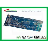 Buy Blue 20 Layer Quick Turn PCB Prototypes 3.5MM Immersion Gold 0.25mm Hole at wholesale prices