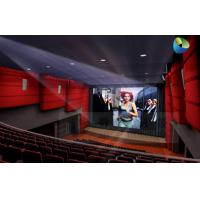 Quality Huge Amazing 4D Movie Theater with Metal Flat Screen , Genuine Leather + Fberglass for sale