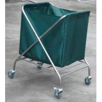 China Stainless Steel Laundry Trolley For Collecting Dirty Clothing on sale