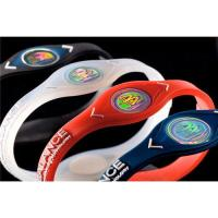 China Power balance silicone wristbands on sale