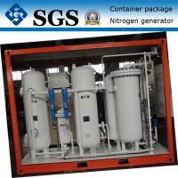 China Container type PSA nitrogen generator for Oil&Gas pressure tank &pipes surging on sale